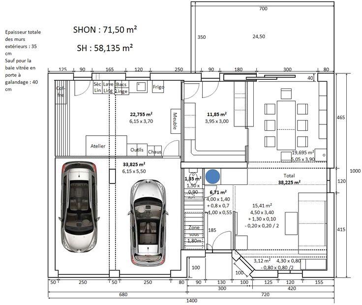 Plan maison inversee for Dessinez vos propres plans de maison gratuitement en ligne