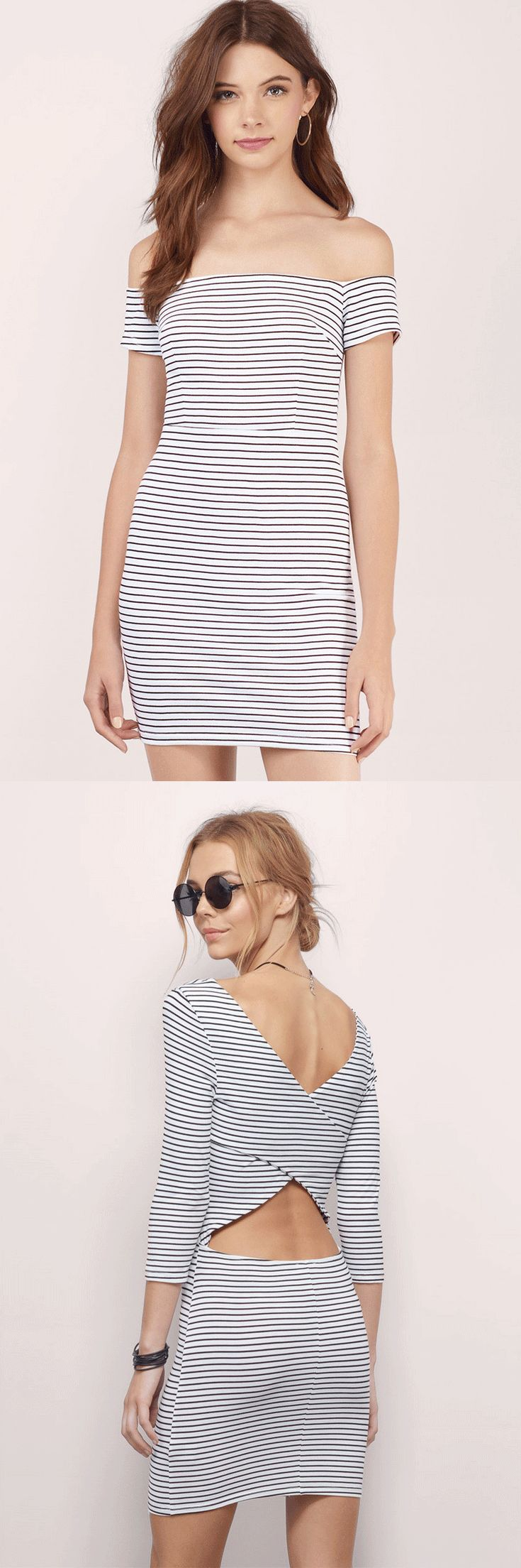 Striped Bodycon Dresses | Shop our huge selection of striped bodycons. Enjoy 50% off your first order and free shipping over $50.
