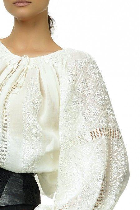 I love the romanian blouse