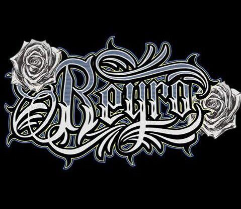 Script Names Tattoo Designs