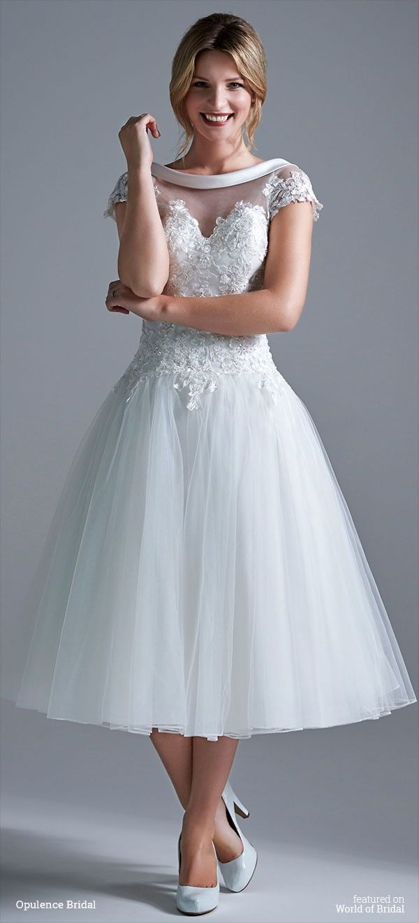 14 best Tea-length wedding dresses by Rita Mae images on Pinterest ...