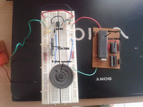 Audio Tone Generator using AVR Microcontroller | AVR