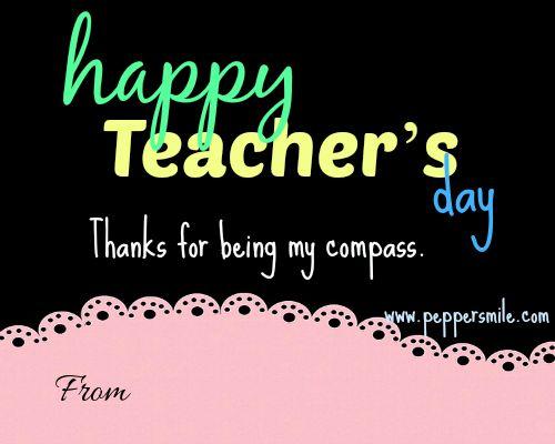 Best 25 Teachers day card message ideas on Pinterest  Message