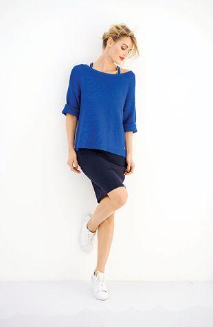 Gebreid blue   Anna van Toor