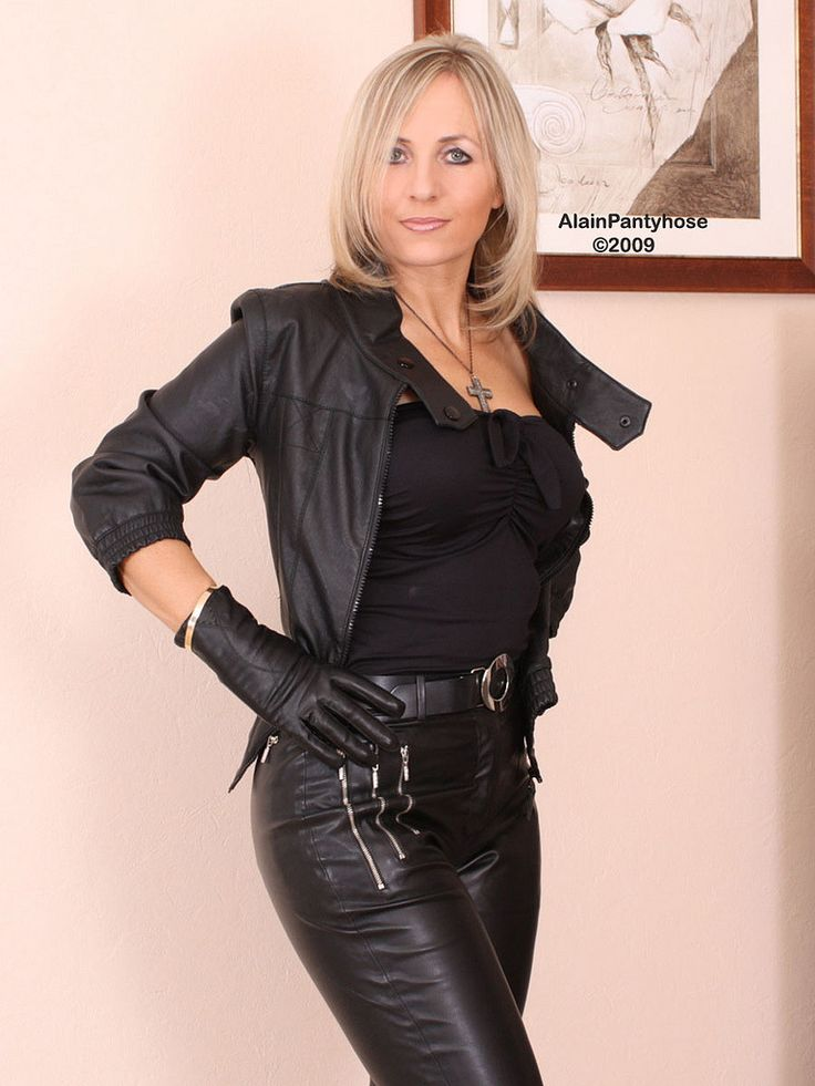600 Best Mature In Leather Images On Pinterest  Latex -1910