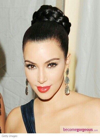 Maquillaje y peinado de fiesta