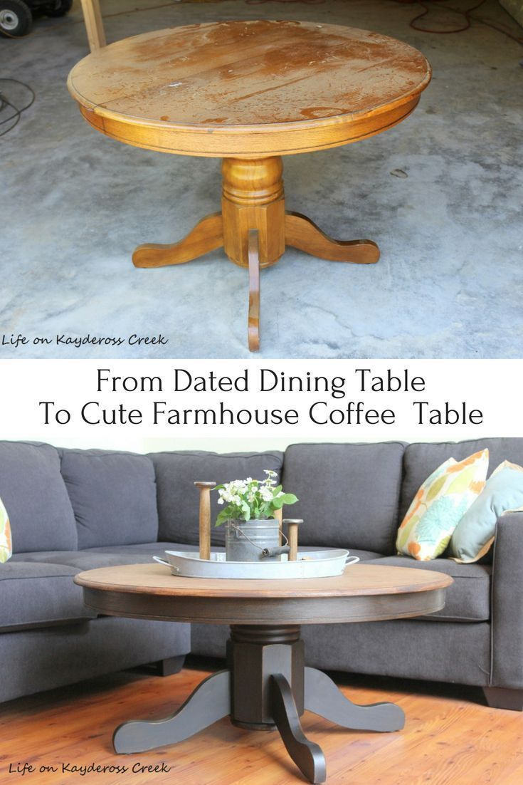 Diy Round Coffee Table 1000 Coffee Table Plans Painted Coffee Tables Coffee Table Farmhouse [ 1327 x 736 Pixel ]