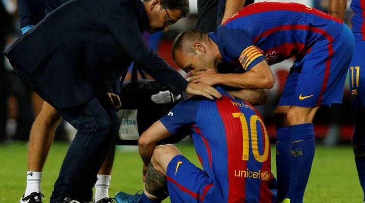 La prensa internacional destaca la mala suerte del Barça con las lesiones de Messi y Busquets