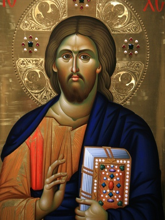 Christ Pantocrator Icon, Mount Athos