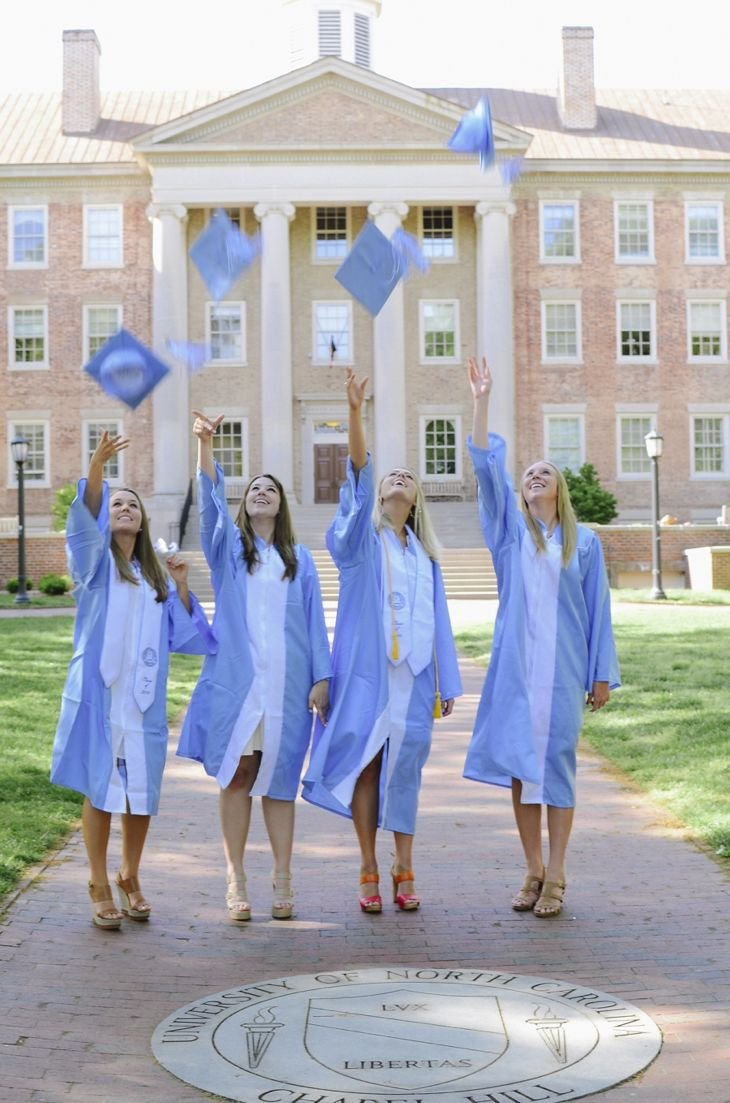 UNC Senior Portraits - Chapel Hill Portrait Photographer