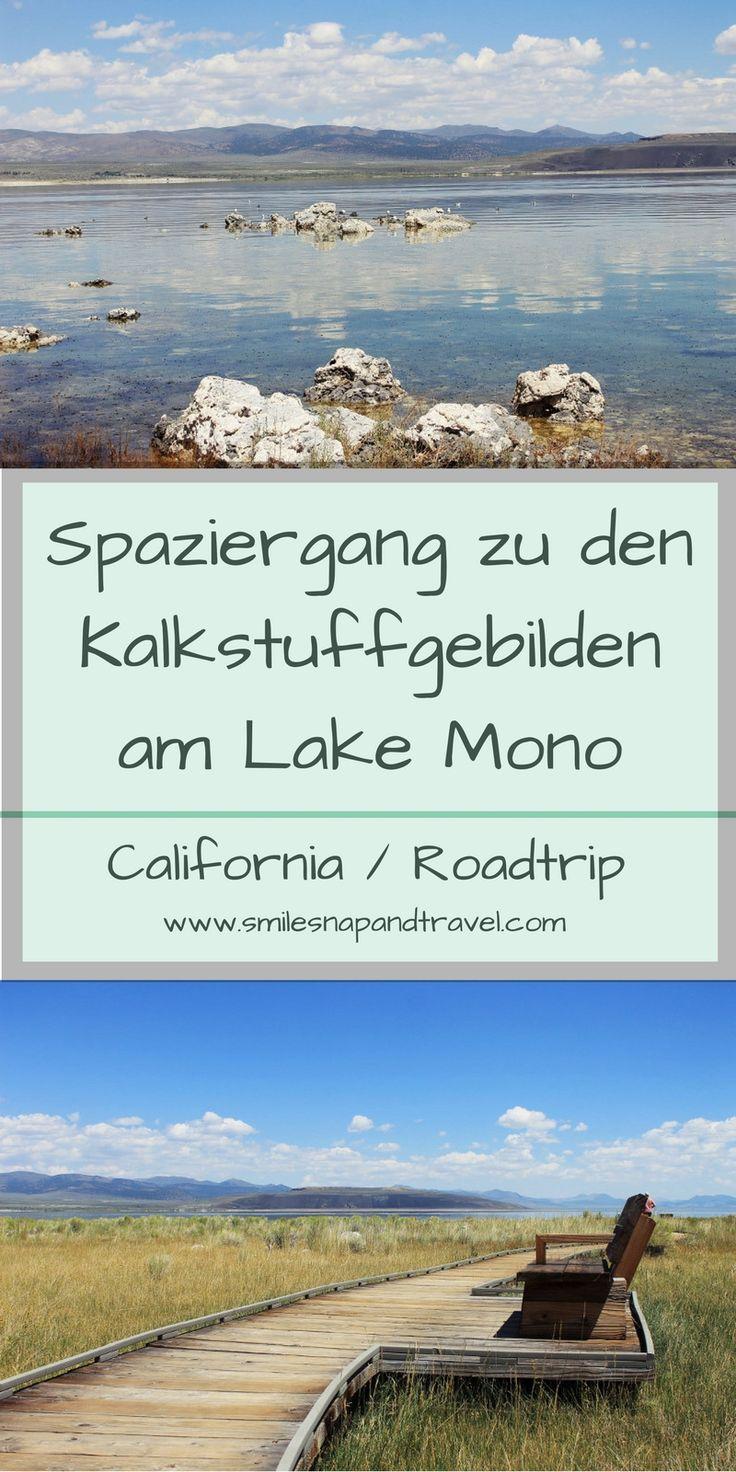 Spaziergang rund um den Lake Mono: bewundere die Kalkstuffgebilde des Schwefelsees in der Nähe des Yosemite National Parks!