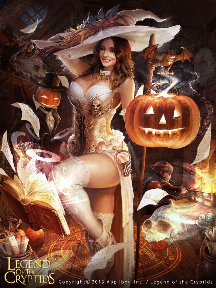 Artist: Shin Tae Sub aka sts0930 - Title: LOC - Card: White Witch Raleigh (Joybringer)