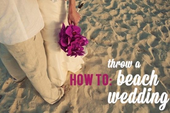 How to plan a beach wedding! #classicAPW