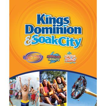 Kings Dominion & Soak City General Admission eTicket; Doswell, Virginia - , check Costco for prices Z