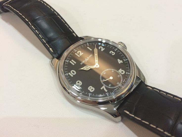 Montblanc 1858 Small Second manual limited edition 858 pieces