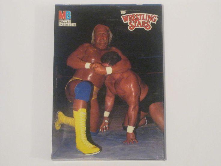 Brand New WWF 1985 Wrestling Stars Hulk Hogan 250 Piece Puzzle WWE
