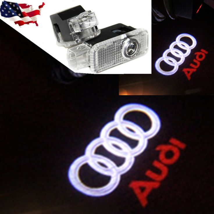2X Voiture LED Courtoisie Porte Projecteur de Lumière D'ombre de Fantôme POUR A1 A3 AUDI A4 A6 A5 A7 A8 80 TT Q3 Q5 Q7 S LIGNE C5 C6 B5 B6 B7