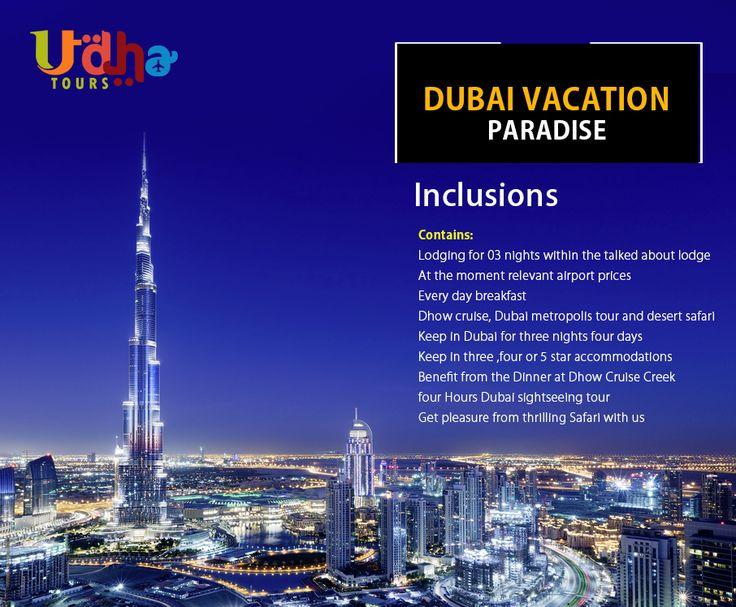 #Dubai #Holidays - Book #Dubai #Tours & #travel #packages at udhatours. Dubai Tour ... packages. Explore exciting Dubai Tourism with cheap vacation packages. visit  Call 📞 = (UAE ) 971 566 449 448 (India) = +91 770 203 0543 www.udhatours.com