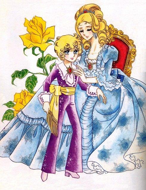 Riyoko Ikeda, TMS Entertainment, Rose of Versailles, Marie Antoniette, Prince Louis-Joseph
