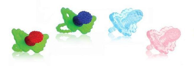 RazBaby Raz-Berry Teethers at Cravings!    RaZbaby RaZ-Berry Silicone Teether is a great product made for a happy teething experience for your baby. This compact-sized teether is easy to grasp and it's extremely soft.