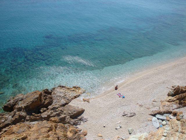 Lesvos island - Greeka.com | Greece | Greek islands Plomari beach Follow: http://www.pinterest.com/greekacom/