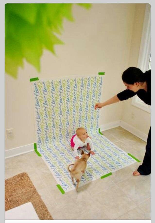 Diy Toddler Boy Haircut: DIY Photo Shoots With Wrapping Paper Backgrounds