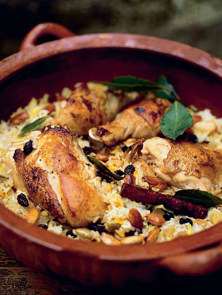One-pot chicken with fragrant saffron rice by Anna & Fanny Bergenström from Under the Walnut Tree | Cooked