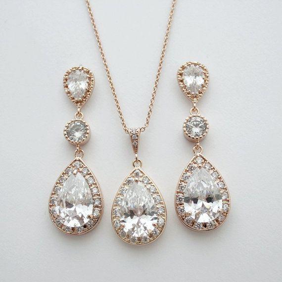 Brautschmuck  Die besten 25+ Ohrringe zirkonia Ideen auf Pinterest ...