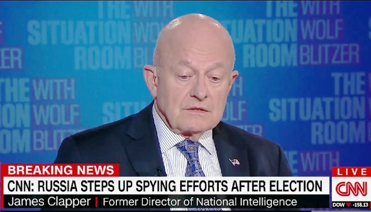 James Clapper Refutes Trump's Claim Others May Have Meddled in Election: 'That's News to Me'