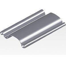 Portas de Aço de Enrolar Automática – Perfil Meia Cana FECHADA (PMC-01)
