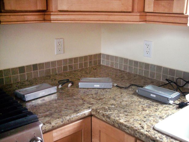 how to DIY under-cabinet lighting  http://www.hgtv.com/kitchens/easy-under-cabinet-kitchen-lighting/index.html