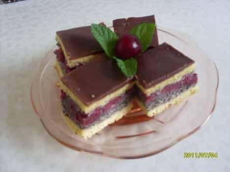 Meggyes-mákos – imádom sütni