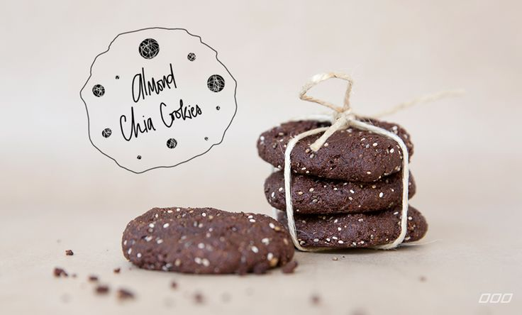 Make This: Almond, Chia, Chocolate Cookies | Move Nourish Believe