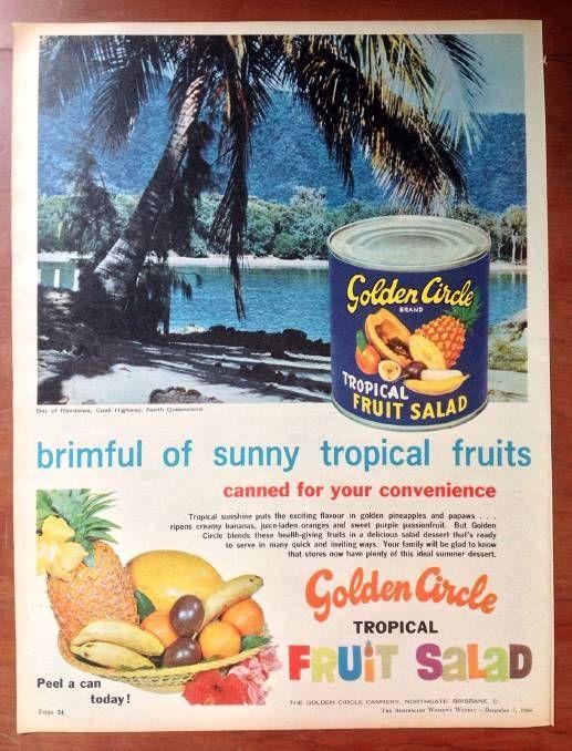 Vintage Australian advertisements.