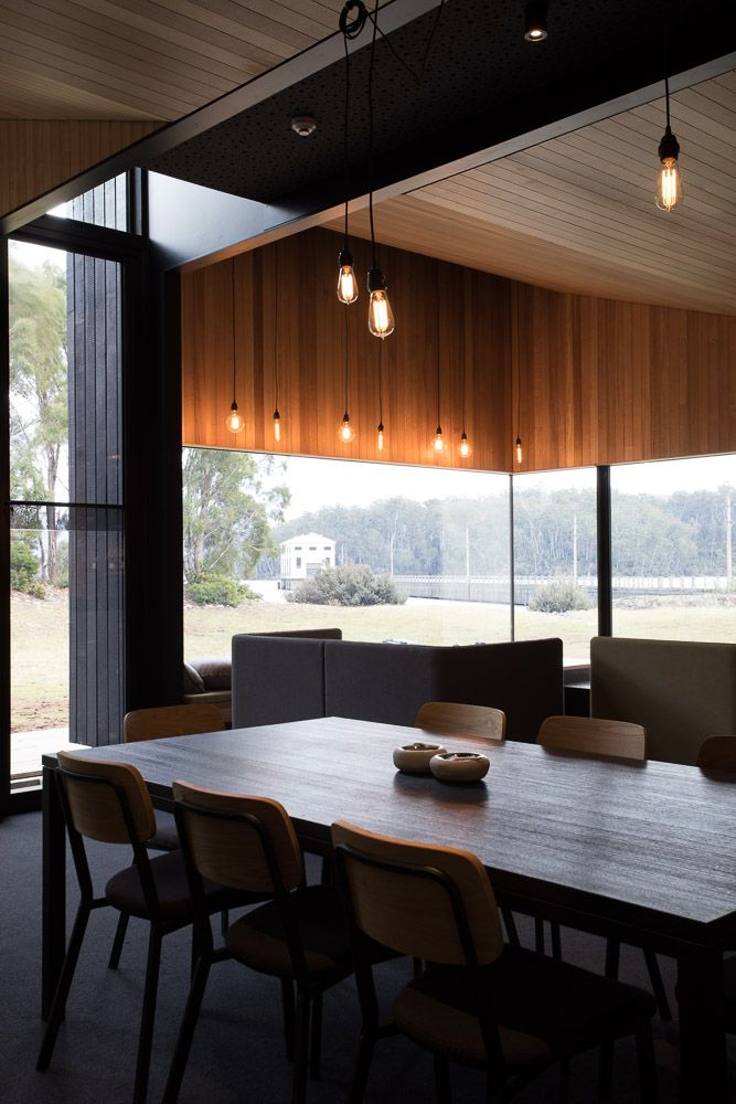 Pumphouse Point Shorehouse Addition by JAWS Architects.