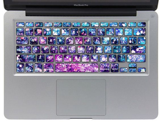 MacBook Pro Keyboard Decal Sticker MacBook Air Keyboard Decals Stickers Apple Laptop Mac MB Vinyl Cover Skin on Etsy, $11.99