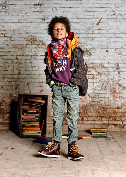 Scotch & Soda Collection - Lookbook | Scotch & Soda #kids
