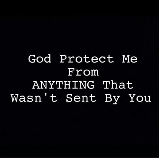 God Protect Me Prayer