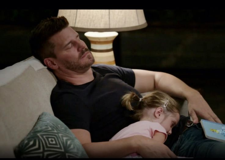 Bones. Season 10x01 Booth and his daughter Christine. Too adorable!!!