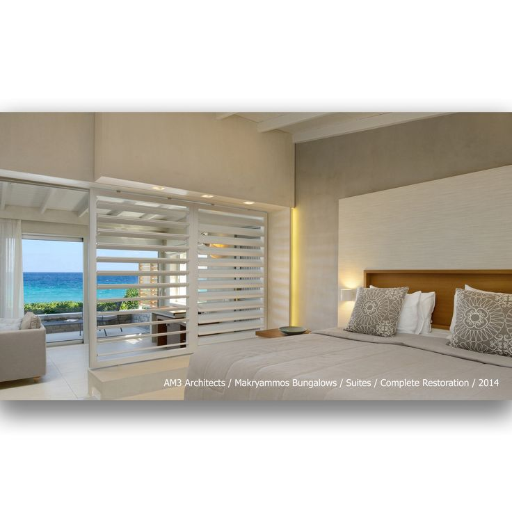 AM3 Architects / Makryammos Bungalows / Suite / Complete Restoration / 2014