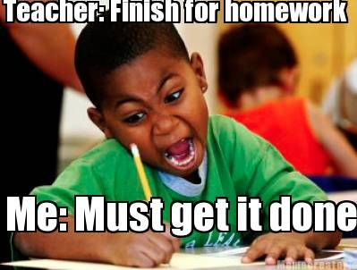 homework students
