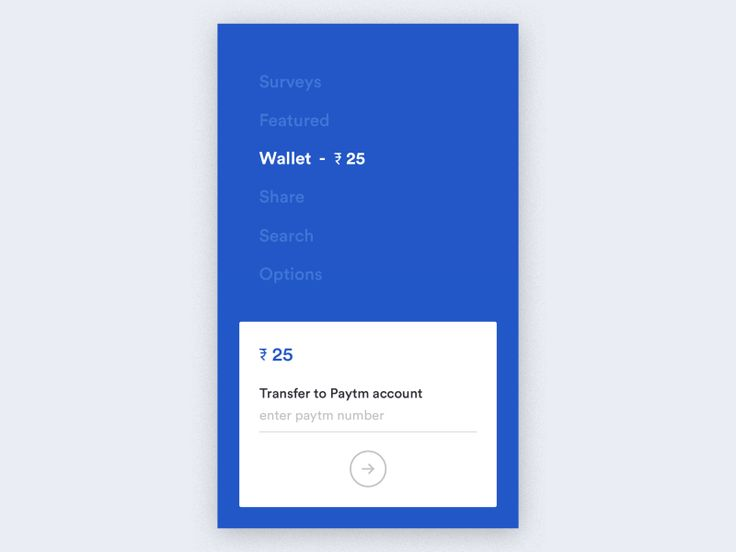 Wallet interaction  by Udhaya chandran | Baspixels