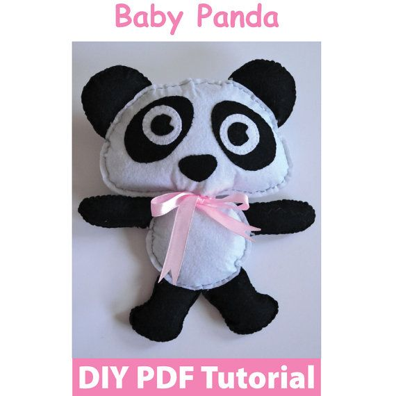 Baby Panda PDF Tutorial INSTANT DOWNLOAD by vitbich on Etsy, $6.00