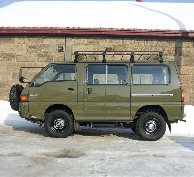 Minivan Camper Conversion >> Model: MITSUBISHI DELICA STAR_WAGON 1990y | Transport | Pinterest | Models, Photos and Van