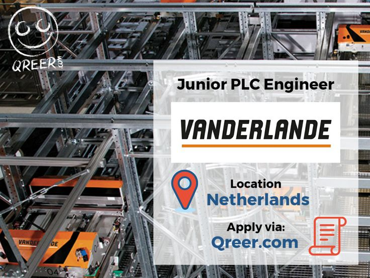 Vanderlande is looking for a Junior PLC Engineer for their Warehouse Automation Engineering department within Vanderlande in Veghel, Netherlands.   If the challenging profile of PLC Project Engineer triggers your interest, apply now by filling in the application form and uploading your CV and cover letter:  https://www.qreer.com/jobs/view/8983/junior-plc-engineer#keyword%3Ajunior+plc