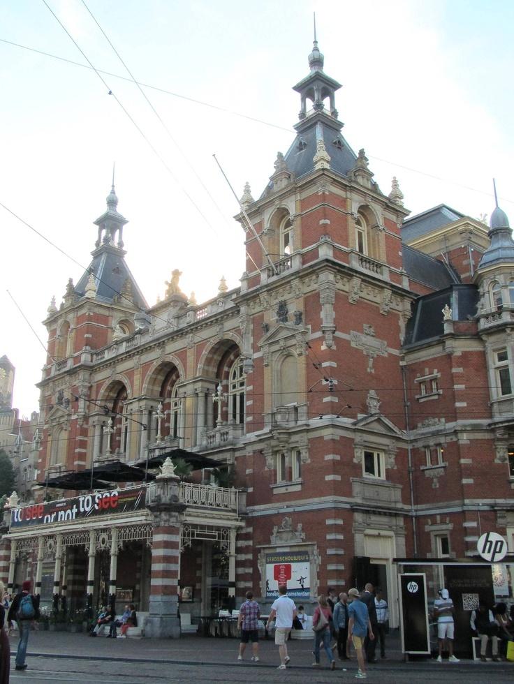 stadsschouwburg municipal theatre leidseplein amsterdam 1984 by architect jan springer