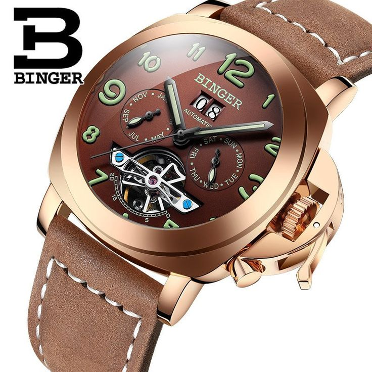 Swiss Famous Brand Watches Men Automatic Mechanical Watch