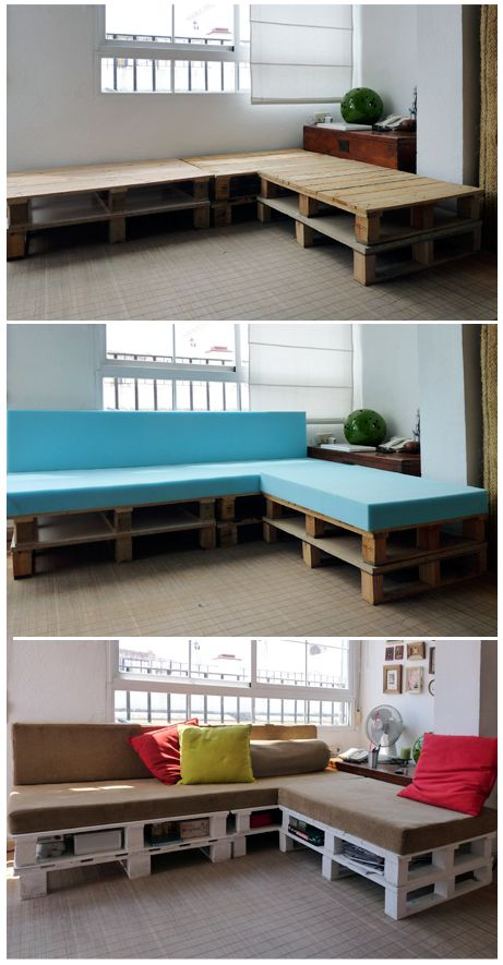 Euro Pallet Furniture... So cool love pallet furniture