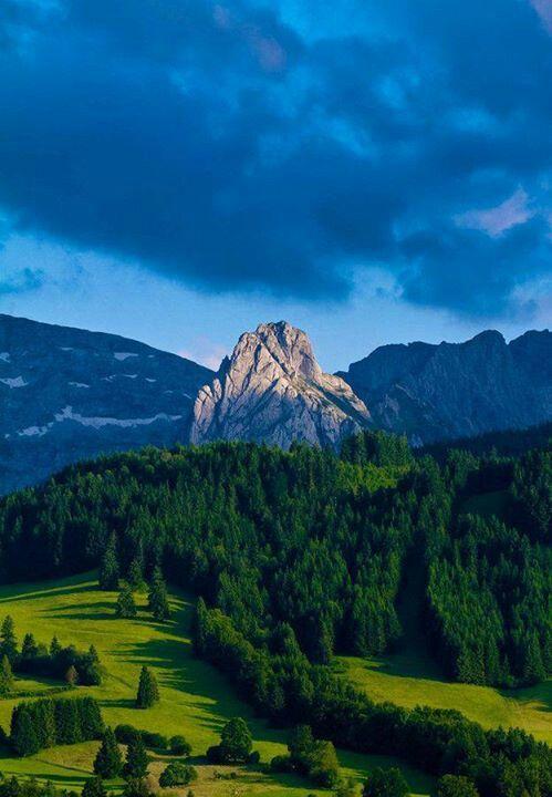 Mt. Geiselstein, Bavaria, Germany