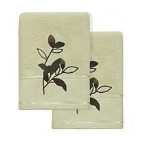 Autumn Leaves 2 pc Hand Towel Set